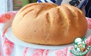 Хлеб кукурузный с льняными семечками