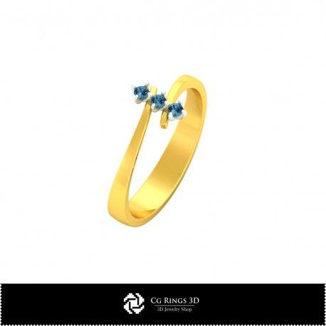 3D CAD Ring