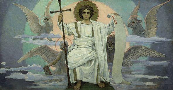Виктор Васнецов. Выставка в Третьяковской галерее (Москва). Изображение № 1.