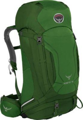 Osprey Kestrel 48 Hiking Backpack Jungle Green - M/L - Osprey Backpacking Packs   Osprey   Ebags   What a Great Backpack!