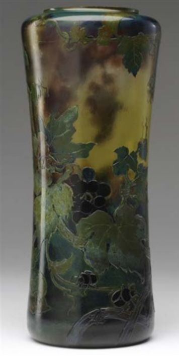 1000 Images About G Val St Lambert Belgian Glass On Pinterest Antique Glass Glass Vase And