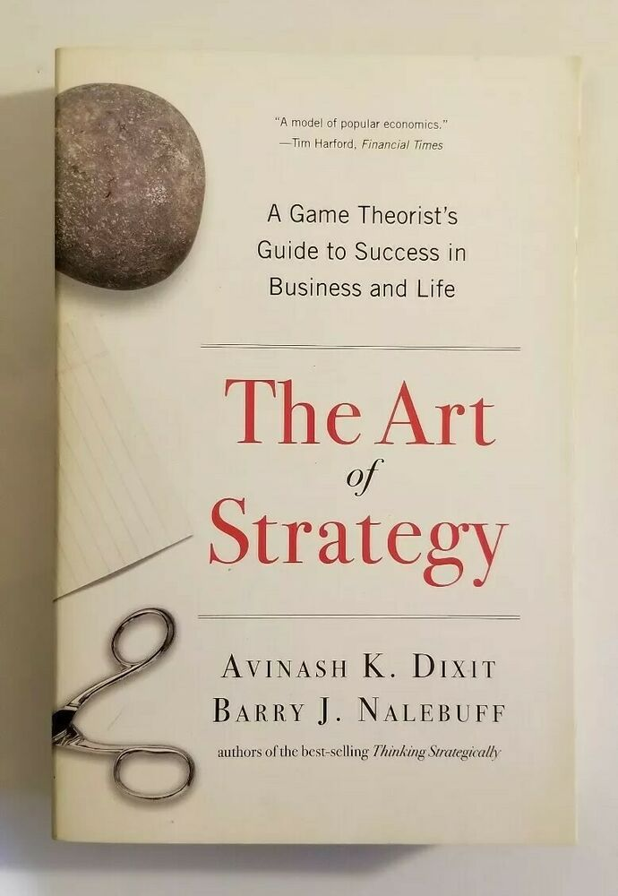 21+ The Art Of Strategy: A Game Theorist's Guide To Success In Business & Life  Pics