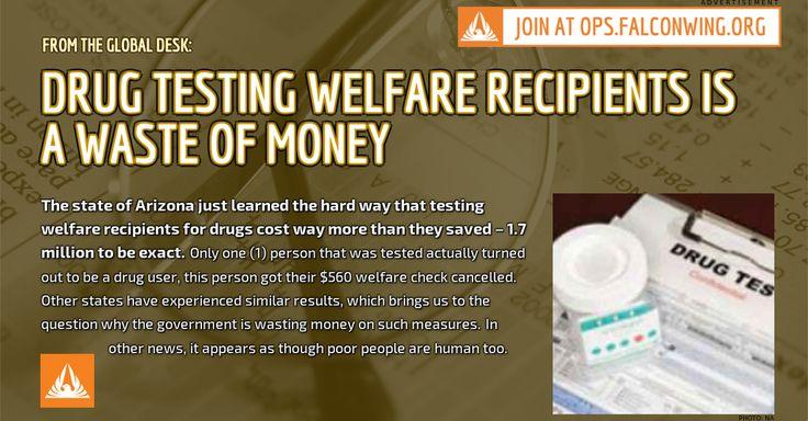 should welfare recipients be drug tested argumentative essay