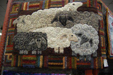 Angela Thomas' sheep