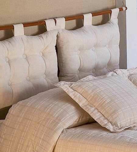 respaldo para cama o sommier cada uno