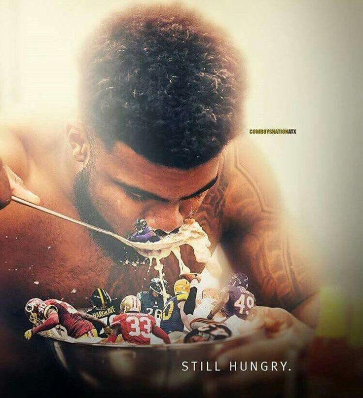 Eating them up one team at a time!!!! #Zeke #FeedHim