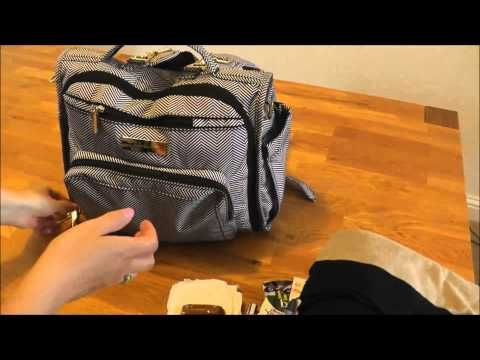 JuJuBe BFF Packed Toddler and Baby - What's in my bag? - YouTube