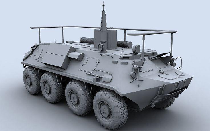 Max Btr 60 145Bm - 3D Model