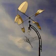 Kinetische Kunst: Wind