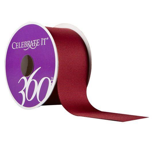 "Celebrate It 360° Grosgrain Ribbon, 1 1/2"""