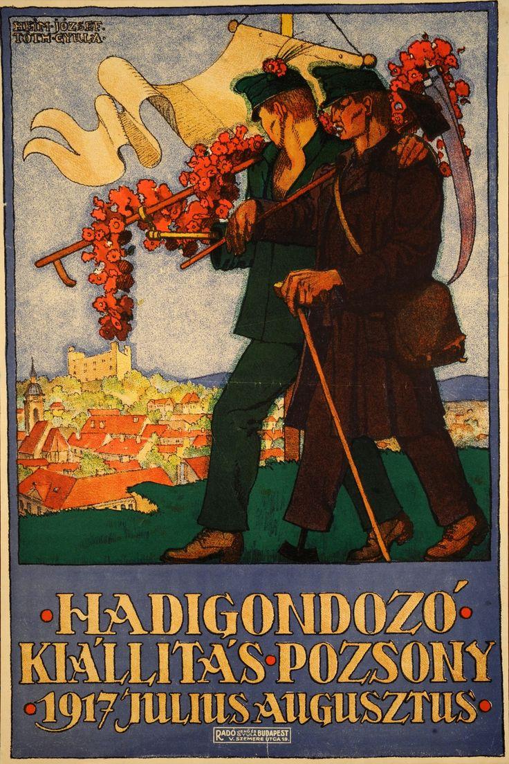 Heim József: Hadigondozó kiállítás (1917)