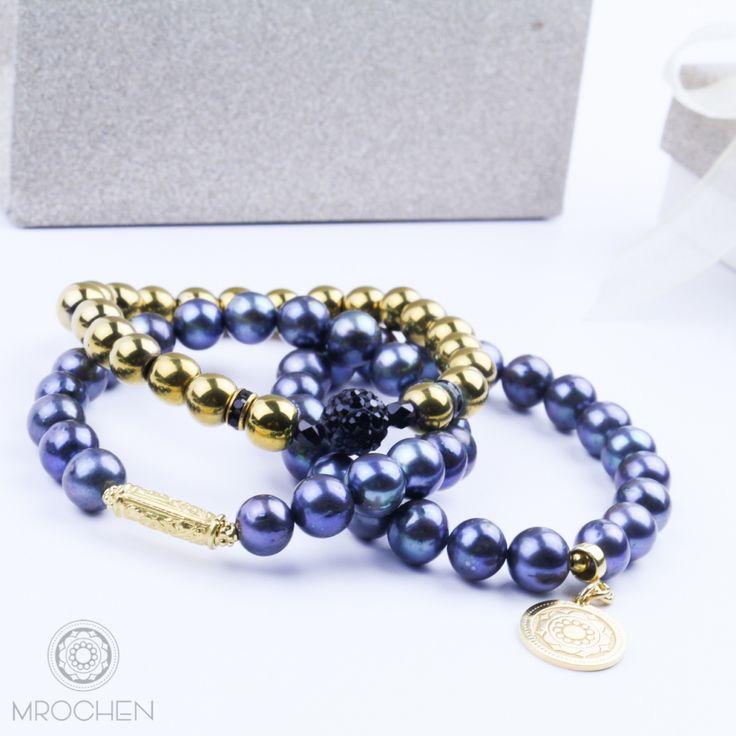 Blue Chic - niebieska perła