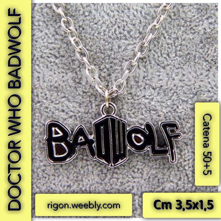 COLLANA DOCTOR WHO BADWOLF