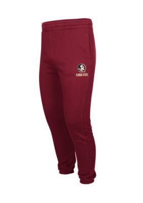 Colosseum Athletics Men's Florida State Seminoles Zone Iii Fleece Pants - Garnet - 2Xl