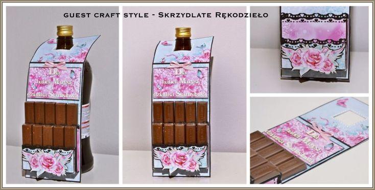 CRAFT STYLE - blog: Gościnnie - Skrzydlate Rękodzieło i czekoladownik ...
