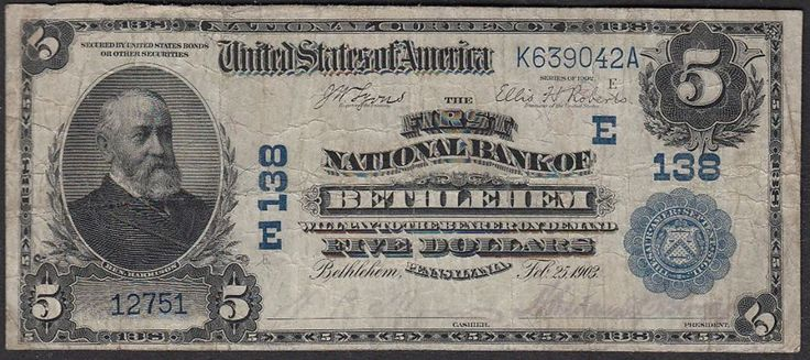 old money from 1903
