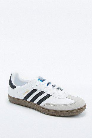 """adidas Originals – Sneaker """"Samba"""" in Weiß mit Gummisohle"""