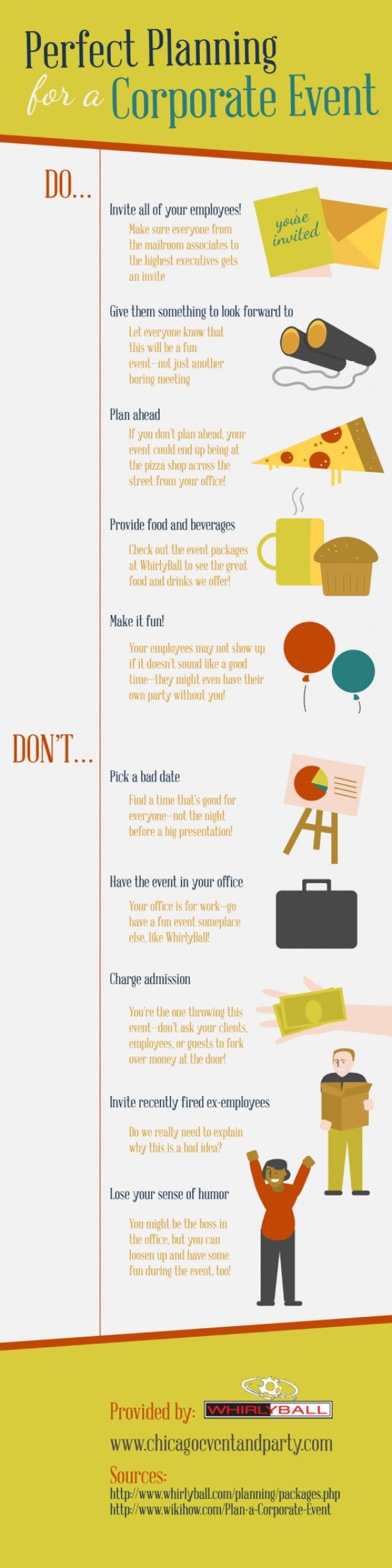 Perfect Planning for a Corporate #Event #infografía