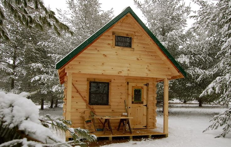 Top 25 Ideas About Log Cabins On Pinterest Kid Playhouse