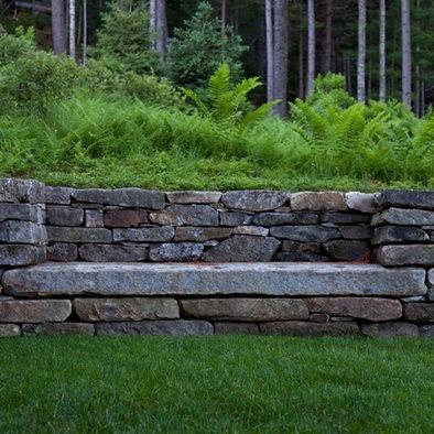 outdoor bench - that slab is huge!