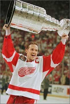 Steve Yzerman....one of the classiest guys in hockey
