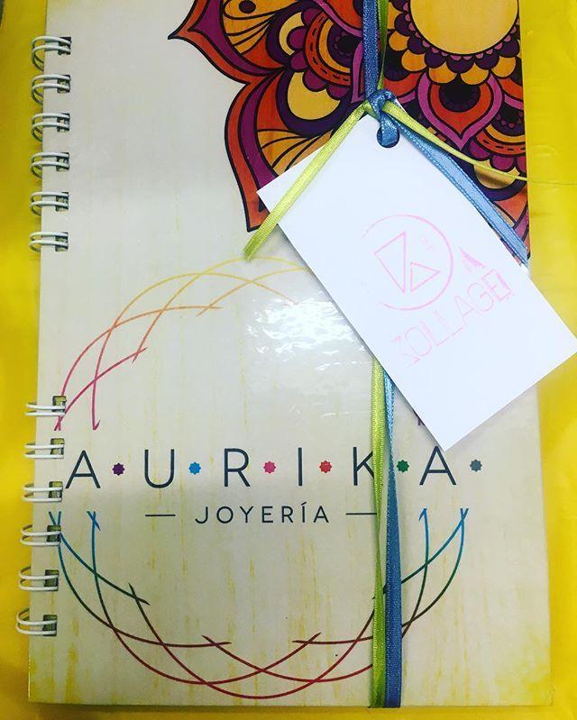 @aurika.co se llevó nuestro corazón 💖 al permitirnos realizarle esta libreta…