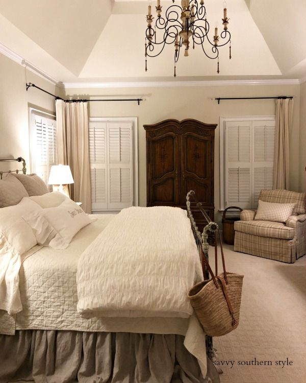 The Brighter Master Bedroom Reveal – Savvy Southern Style | French Country Style in a Southern Home