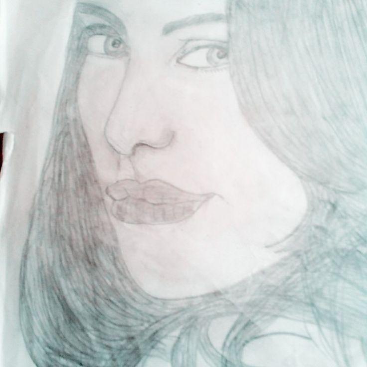 I draw sketch