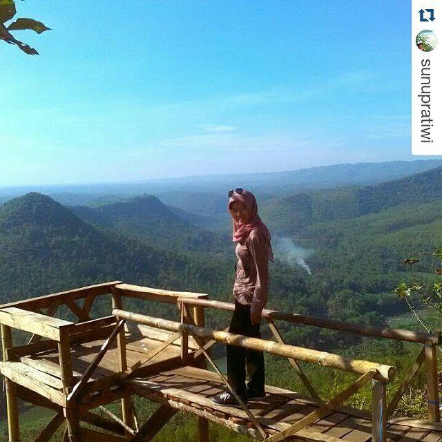 #Repost @sunupratiwi  Back to nature . . .  Taken at bukit panguk kediwung mangunan dlingo bantul yogyakarta #indonesia  #forest #hill #mount #tree #pine #teak #river #green #nature #natural #view #deck #landscape #adventure #traveling #naturelovers #dolanbantul #explorebantul #jelajahbantul #jogja #jogjaku #visityogya #travelingjogja #dolanjogja #yogyakartacity #ayodolan by Jelajah Bantul