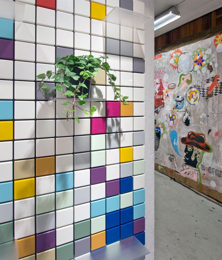 OBJECTS:   Confetti Shelf by Pellington Design is a modular tiled panel    You can mix and match colours, move shelves around and when you fancy a change: take it all down and start all over again.    Pellington Confetti @pellingtondesig   #designbest #magazine #interiordesign #homedecor