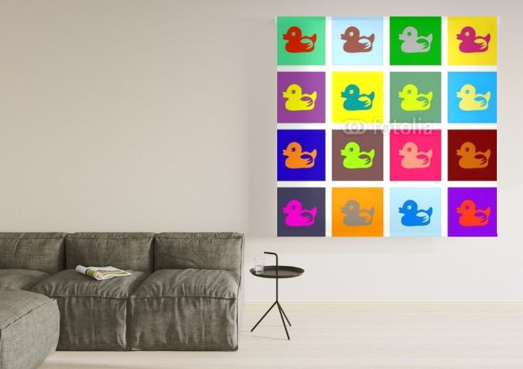 Enrollables fotográficos Pop Art #estores #decoracion #popart