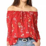 BB Dakota BB Dakota Soho Off the Shoulder Top