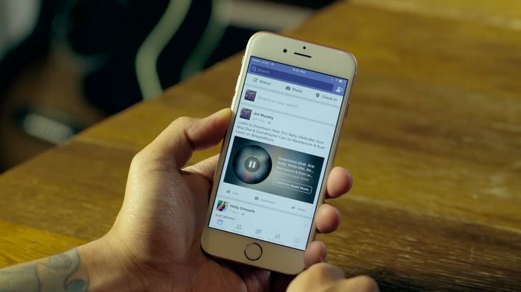 How to share a music clip with the new Facebook Music Stories