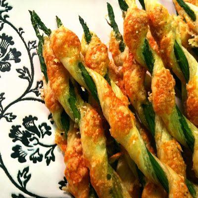 Asparagus Appetizers | Caroline's Edible Creations