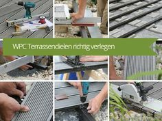 WPC Terrassendielen richtig verlegen - Anleitung DIY