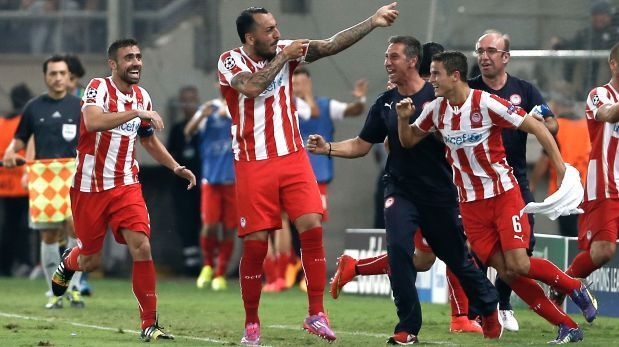 En su estreno en la Champions League, el actual subcampeón perdió frente al equipo griego que fue muy efectivo en ataque. Olimpiacos dio el golpe venció al Atletico Madrid 3-2.