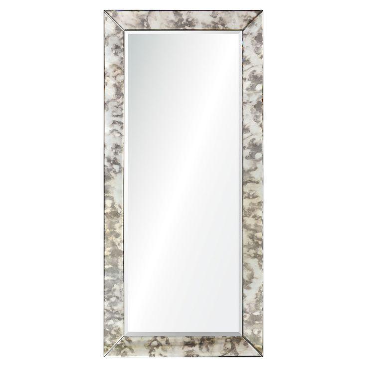 Renwil Ren Wil Rampart Framed Rectangular Mirror