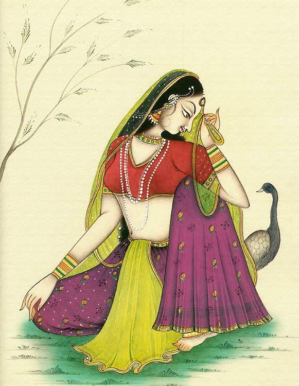 Rajput+Beauty+(Reprint+on+Paper+-+Unframed))+