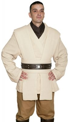 STAR WARS COSTUMES: : Star Wars Obi Wan Kenobi Costume - Body Tunic only - Replica Star Wars Costume $127.99