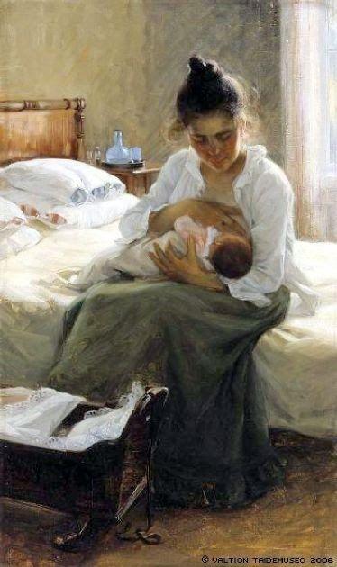 Finnish Painter Elin Kleopatra Danielson-Gambogi 1861-1919 Finland