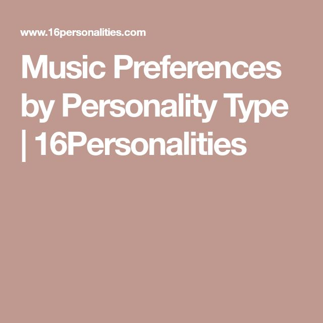 effects of personality on music preferences in adolescents The relationship between affect, uses of music, and music preferences in a sample of south african adolescents  music preferences, personality style,.