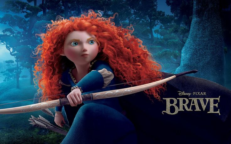 É lin-do! Merida is <3: Princess Merida, Disney Princess, Movies, Disney Pixar, Brave Movie, Princesses, Hair, Brave Merida, Disney Movie