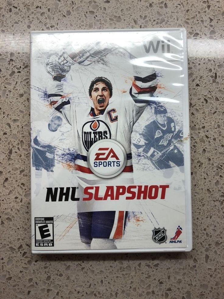 STARTING BID $5.90!!!  NHL Slapshot (Nintendo Wii, 2010 - NO STICK)  #nhl #wii #nintendo #switch #nintendoswitch #gamers #pcgamers #gamerunite #techdeals #auctions #gameauction #pcgaming #msi #sony #alienware #windows #ebaydeals #ebayauction