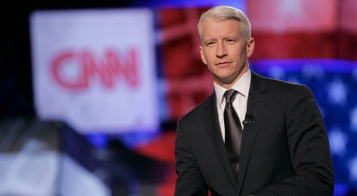 Anderson Cooper hosts Anderson Cooper 360° on CNN