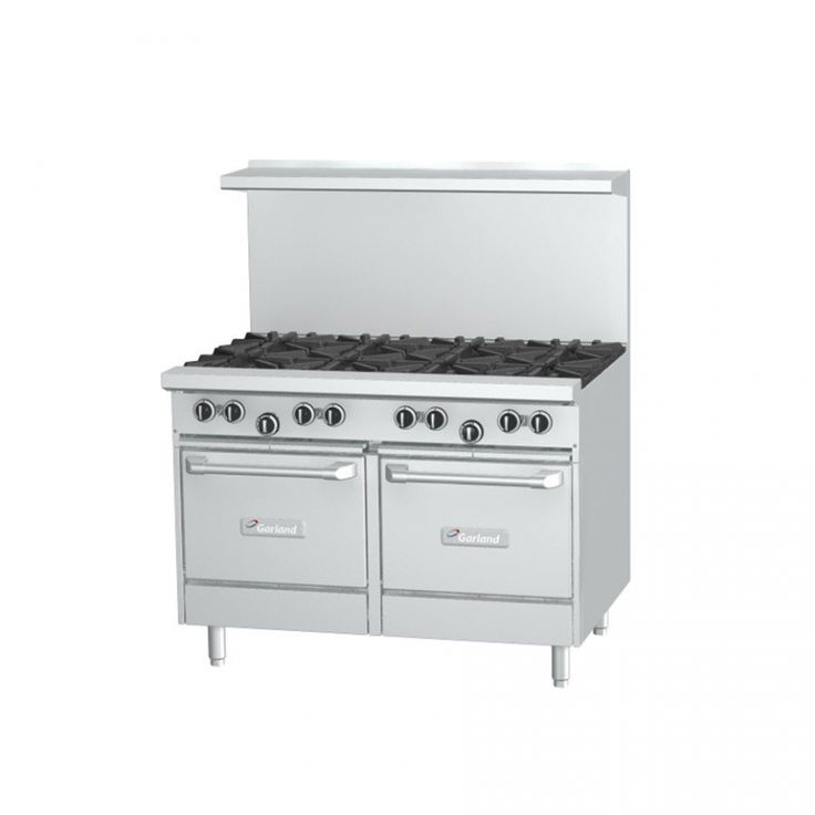 ... G48-8CS 8 Burner 48 Gas Range with Convection Oven and Storage Lowly