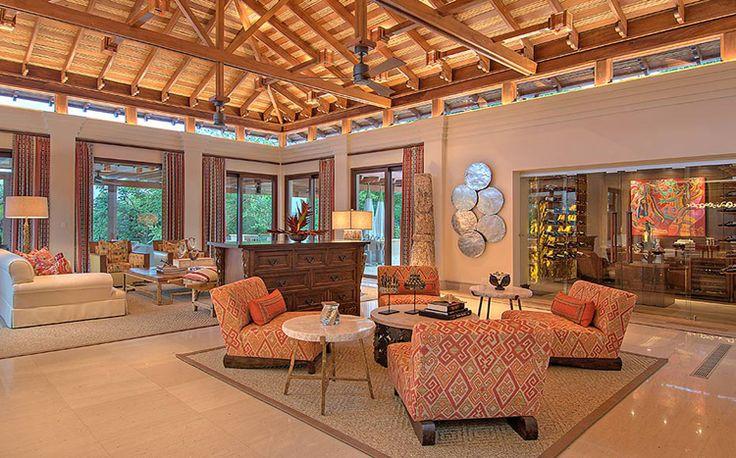 Villa Manzu is een privé-landgoed 8 slaapkamers veel privacy en comfort op 2 hectare schiereiland Papagayo, Costa Rica, Midden Amerika