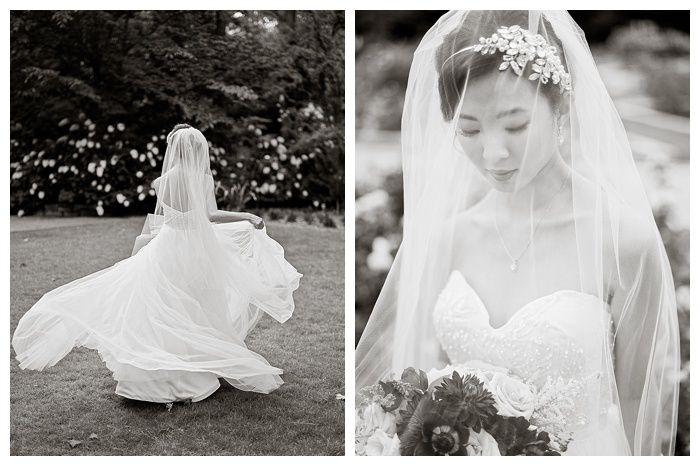 Kelli + Daniel Taylor Photography, LLC Blog » Birmingham-based wedding photography. Bridal session at Birmingham Botanical Gardens. HMUA Melissa Moore Bogardus. Florals by Mandy Busby.
