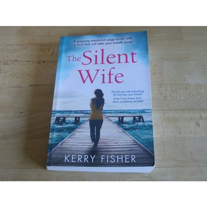 Ydc165 The Silent Wife By Kerry Fisher For Bradwell Hall Nursing Home Listing In The Ydc Your Donation Counts Charity Aucti Charity Auction Auction Charity