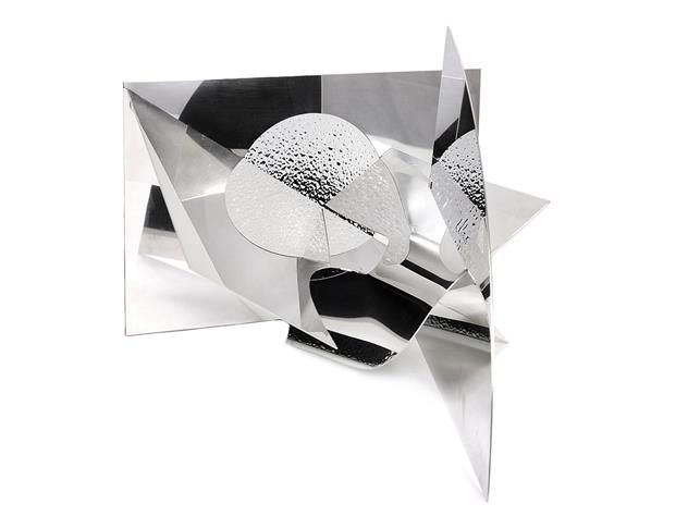 MICHEAL HEYMAN, designed by ROLF KAPLAN, sterlingsilver. Item 1014826. Contemporary – Saturday 22 March 2014.