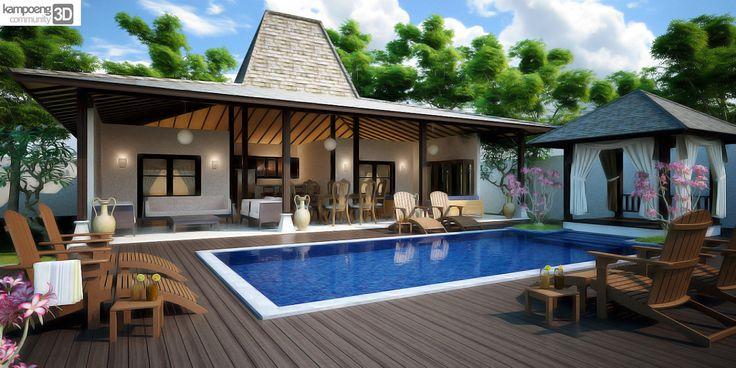 Villa Joglo In Bali